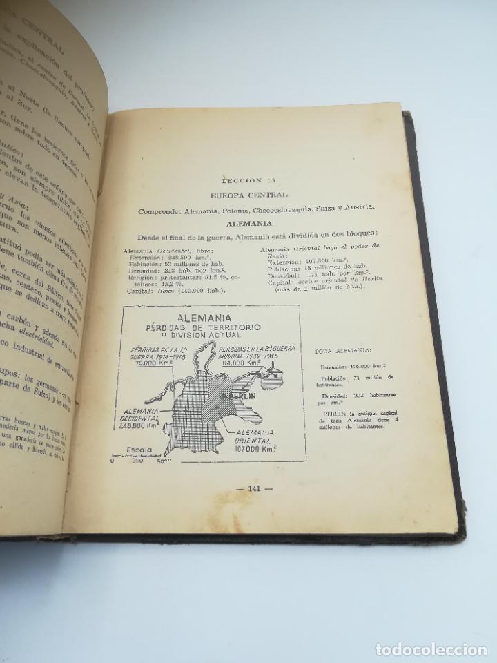 Libros antiguos: GEOGRAFIA UNIVERSAL. 2º CURSO BACHILLERATO. ED HECHOS Y DICHOS. ZARAGOZA. 2º ED. SUBRAYADOS. VER - Foto 10 - 288903098