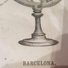 Libros antiguos: ATLAS DE 1870 MUY CURIOSO DE BASTINOS. PIEZA UNICA. Lote 289769438