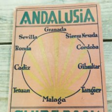 Libros antiguos: ANDALUCIA GUIA DEL TURISTA. 1929. 1ª EDICIÓN.POR FRITZ KOETHKE - 12 PLANOS Y MAPAS, EN INGLES. Lote 295398423