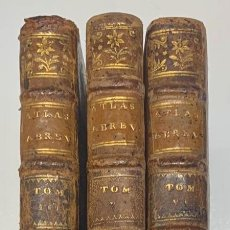 Libros antiguos: NUEVO ATLAS UNIVERSAL ABREVIADO O NUEVO COMPENDIO DE LO MÁS CURIOSO-1755. Lote 295429238