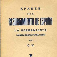 Libros antiguos: 1937: RESURGIMIENTO DE ESPAÑA. Lote 27480836