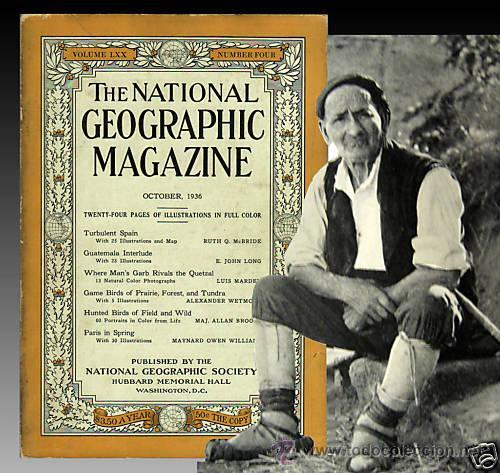 1936 - RARO - GUERRA CIVIL ESPAÑOLA - NATIONAL GEOGRAPHIC (Libros antiguos (hasta 1936), raros y curiosos - Historia - Guerra Civil Española)