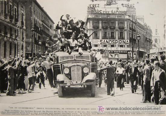 Libros antiguos: 1936 - RARO - Guerra Civil Española - NATIONAL GEOGRAPHIC - Foto 3 - 17022537