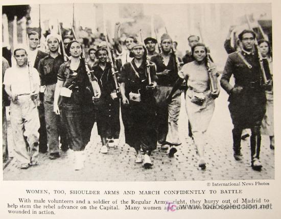 Libros antiguos: 1936 - RARO - Guerra Civil Española - NATIONAL GEOGRAPHIC - Foto 7 - 17022537