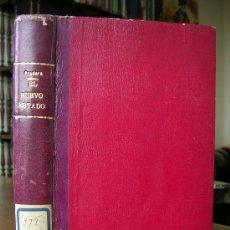 Libros antiguos: EL ESTADO NUEVO.VICTOR PRADERA.. Lote 53343583
