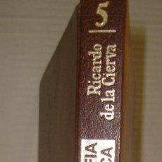 Libros antiguos: FRANCISCO FRANCO, BIOGRAFIA HISTORICA, RICARDO DE LA CIERVA. TOMO 6. Lote 27533147