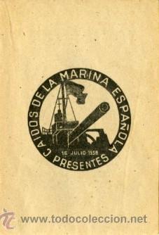 Libros antiguos: GUERRA CIVIL.- GESTAS DE LA CRUZADA (Nº 1).- COMO MUEREN LOS MARINEROS DE ESPAÑA. - Foto 4 - 28397370