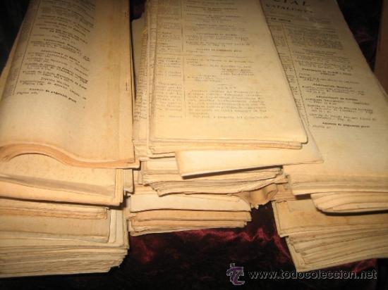 DIARI OFICIAL GENERALITAT DE CATALUNYA : MÁS DE 200 NÚMEROS EDITADOS ENTRE JULIO 1936 Y ENERO 1937 (Libros antiguos (hasta 1936), raros y curiosos - Historia - Guerra Civil Española)