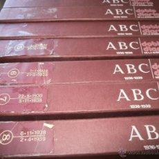 Libros antiguos: ABC DOBLE DIARIO DE LA GUERRA CIVIL - COMPLETO-. Lote 56258825