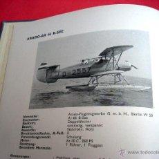 Libros antiguos: CATÁLOGO DE AVIACIÓN - 1936 - FLUGZEUG-TYPENBUCH. Lote 44069203