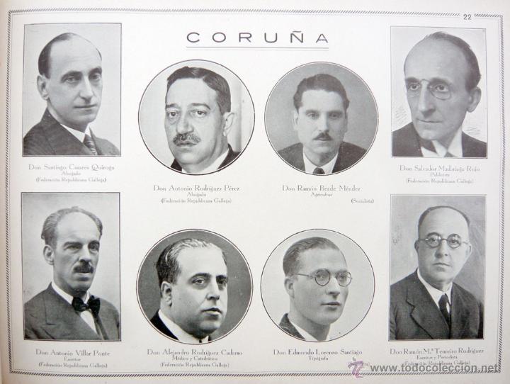 Libros antiguos: REPUBLICA ESPAÑOLA.CORTES CONSTITUYENTES 1931 / ED. RIVAS / ED. ORIGINAL/ PRECIOSO-!! - Foto 16 - 44075215