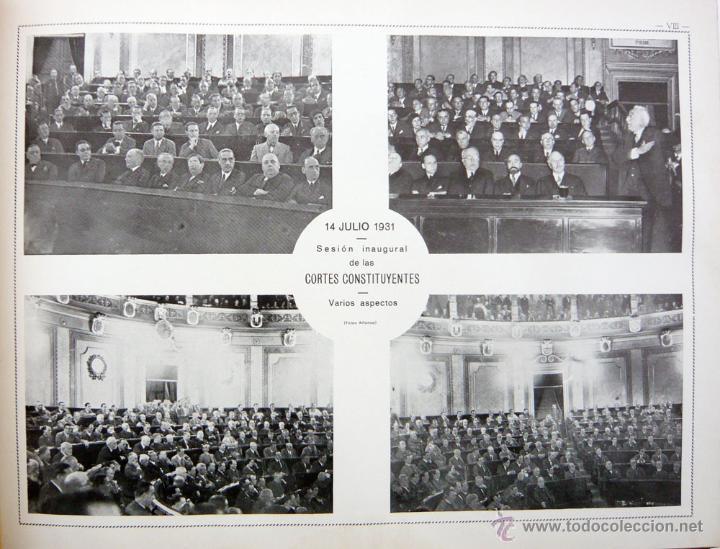Libros antiguos: REPUBLICA ESPAÑOLA.CORTES CONSTITUYENTES 1931 / ED. RIVAS / ED. ORIGINAL/ PRECIOSO-!! - Foto 18 - 44075215
