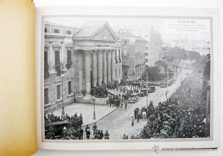 Libros antiguos: REPUBLICA ESPAÑOLA.CORTES CONSTITUYENTES 1931 / ED. RIVAS / ED. ORIGINAL/ PRECIOSO-!! - Foto 19 - 44075215