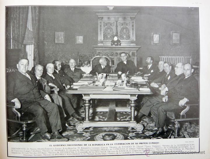 Libros antiguos: REPUBLICA ESPAÑOLA.CORTES CONSTITUYENTES 1931 / ED. RIVAS / ED. ORIGINAL/ PRECIOSO-!! - Foto 20 - 44075215