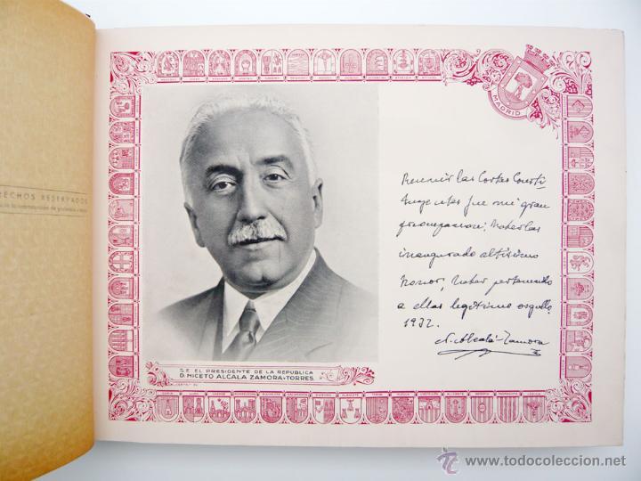 Libros antiguos: REPUBLICA ESPAÑOLA.CORTES CONSTITUYENTES 1931 / ED. RIVAS / ED. ORIGINAL/ PRECIOSO-!! - Foto 23 - 44075215