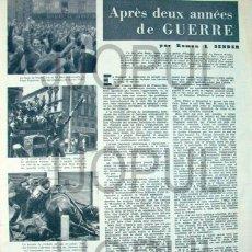 Libros antiguos: REGARDS. 1938. ROBERT CAPA, CENTELLES, ALFONSO. GUERRA CIVIL. II REPUBLICA. ORIGINAL. Lote 46331280
