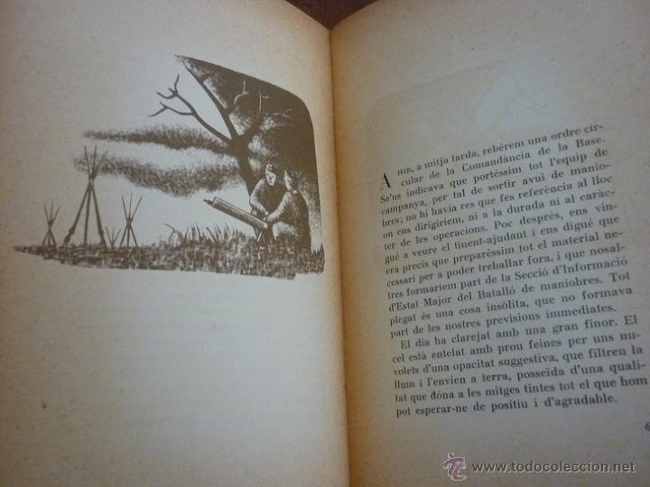 Libros antiguos: Unitats de xoc per Pere Calders. Enric Cluselles. 1938 Guerra Civil. exemplar de Ramon Pujol Alsina - Foto 3 - 49538908