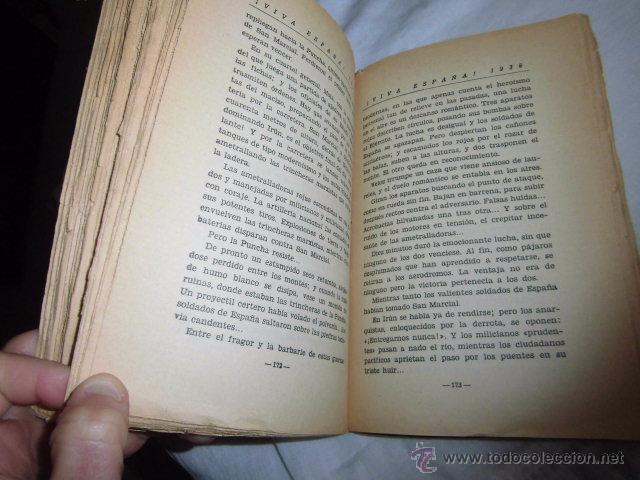 Libros antiguos: VIVA ESPAÑA 1936.HACIA LA RESTAURACION NACIONAL.VALLADOLID 1936 - Foto 7 - 50686149