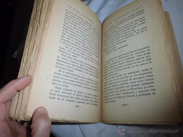 Libros antiguos: VIVA ESPAÑA 1936.HACIA LA RESTAURACION NACIONAL.VALLADOLID 1936 - Foto 8 - 50686149