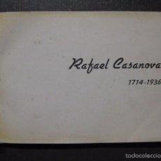 Libros antiguos: RAFAEL CASANOVA 1714-1936 -FOTOLIBRO NACIONALISTA CATALÂ- KELMI NOVEMBRE 1936-GUERRA CIVIL-(XL-48). Lote 58191372