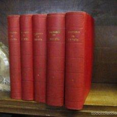 Alte Bücher - HISTORIA DE ESPAÑA EN EL SIGLO XIX Pi y Margall, 5 ( DE 8) TOMOS, 1902 - 58350630