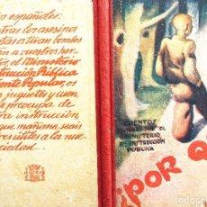 Livres anciens: ¿POR QUÉ ? CUENTOS PARA LOS HIJOS DE LOS MILICIANOS , AÑO 1936 - REPUBLICA - GUERRA CIVIL .. Lote 62749600