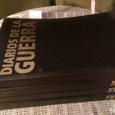 Libros antiguos: DIARIOS DE LA GUERRA. Lote 71971823