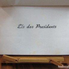 Libros antiguos: ELS DOS PRESIDENTS. DADES HISTÒRIQUES. 1936. EDIT. KELMI. Lote 72882607