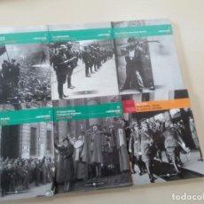Libros antiguos: LOTE 6 TOMOS LA GUERRA CIVIL ESPAÑOLA MES A MES + 1 REGALO-EDITA BIBLIOTECA EL MUNDO/UNIDAD ED.-2005. Lote 76674079