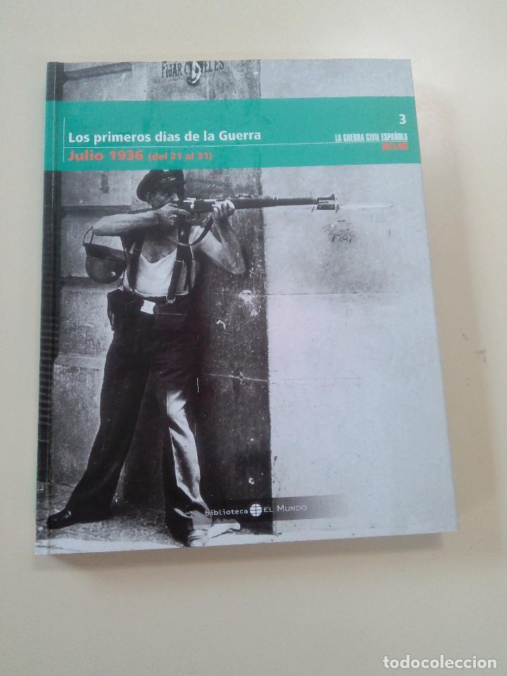 Libros antiguos: LOTE 6 TOMOS LA GUERRA CIVIL ESPAÑOLA MES A MES + 1 REGALO-EDITA BIBLIOTECA EL MUNDO/UNIDAD ED.-2005 - Foto 4 - 76674079
