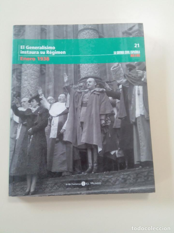 Libros antiguos: LOTE 6 TOMOS LA GUERRA CIVIL ESPAÑOLA MES A MES + 1 REGALO-EDITA BIBLIOTECA EL MUNDO/UNIDAD ED.-2005 - Foto 6 - 76674079