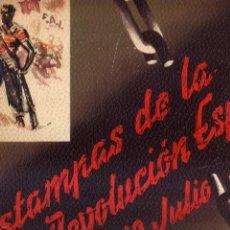 Libros antiguos: ESTAMPAS DE LA REVOLUCIÓN ESPAÑOLA 19 DE JULIO DE 1936 DIBUJOS DE SIM CNT-FAI. Lote 81766236