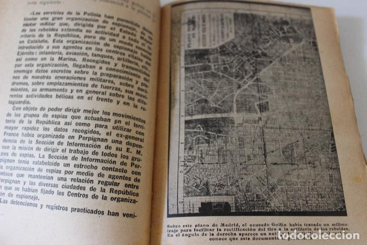 Libros antiguos: Espionaje en España. Max Rieger. Prefacio de José Bergamin. 1938. (Guerra Civil. POUM. Andreu Nin) - Foto 4 - 93682385
