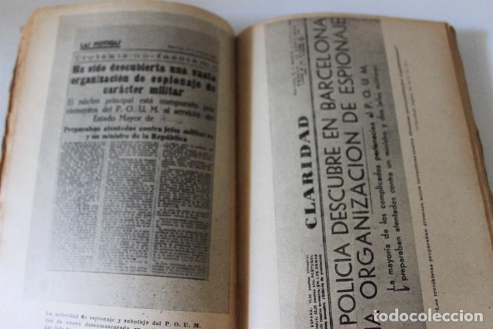 Libros antiguos: Espionaje en España. Max Rieger. Prefacio de José Bergamin. 1938. (Guerra Civil. POUM. Andreu Nin) - Foto 6 - 93682385