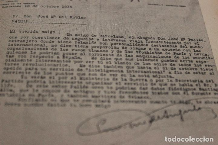 Libros antiguos: Espionaje en España. Max Rieger. Prefacio de José Bergamin. 1938. (Guerra Civil. POUM. Andreu Nin) - Foto 8 - 93682385