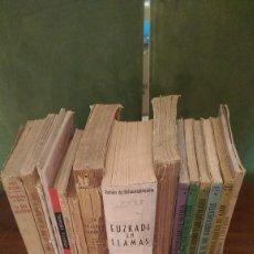 Libros antiguos: (3 UNICOS Y 1 FIRMADO) LOTE 18 PUBLICACIONES REPUBLICANAS 1936-1955. Lote 97094399