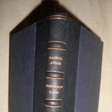 Libros antiguos: TRIBUNALES ROJOS·GUERRA CIVIL - AÑO 1939 - G.AVILES - BELLA ENCUADERNACION.. Lote 98485567