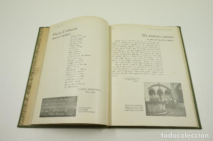 Libros antiguos: EULALIA REVISTA ESCOLAR, TOMO I, números de enero a junio de 1933. 16x22cm - Foto 3 - 101977459