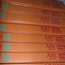 Libros antiguos: DOBLE DIARIO DE LA GUERRA CIVIL, 10 TOMOS, COMPLETA, ED. PRENSA ESPAÑOLA. Lote 103620919