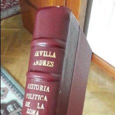 Libros antiguos: HISTORIA POLITICA DE LA ZONA ROJA. DIEGO SEVILLA. ED. NACIONAL. 1954. Lote 103822539