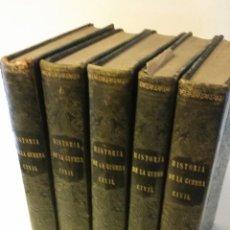 Alte Bücher - 1856 - ANTONIO PIRALA - HISTORIA DE LA GUERRA CIVIL Y DE LOS PARTIDOS LIBERAL Y CARLISTA -PRIMERA ED - 103960675
