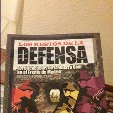 Libros antiguos: LOS RESTOS DE LA DEFENSA. RICARDO CASTELLANO.ED. ALMENA. DIFICIL. Lote 121947876