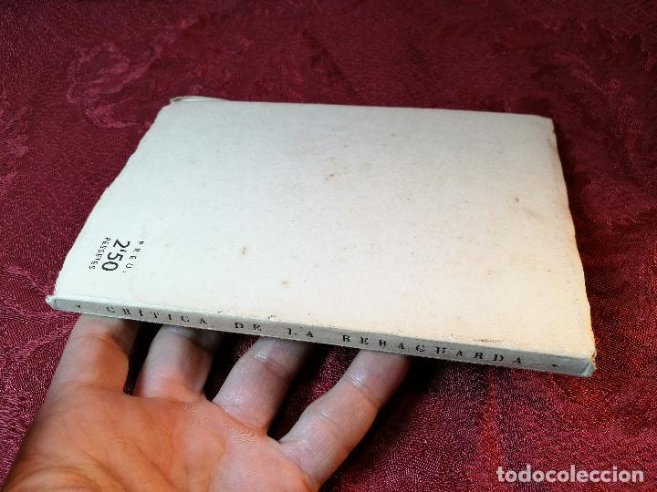 Libros antiguos: CRÍTICA DE LA RERAGUARDA, XERRAMEQUES DOMINICALS DE LHOME DESCONEGUT FORJA BARCELONA 1937, 77 PA. - Foto 5 - 106935579