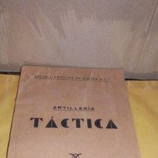 Libros antiguos: ESCUELA POPULAR DE GUERRA Nº 1 ARTILLERIA TÁCTICA 1937 , TAMPON DE LA GENERALITAT DE CATALUNYA . . Lote 107589219