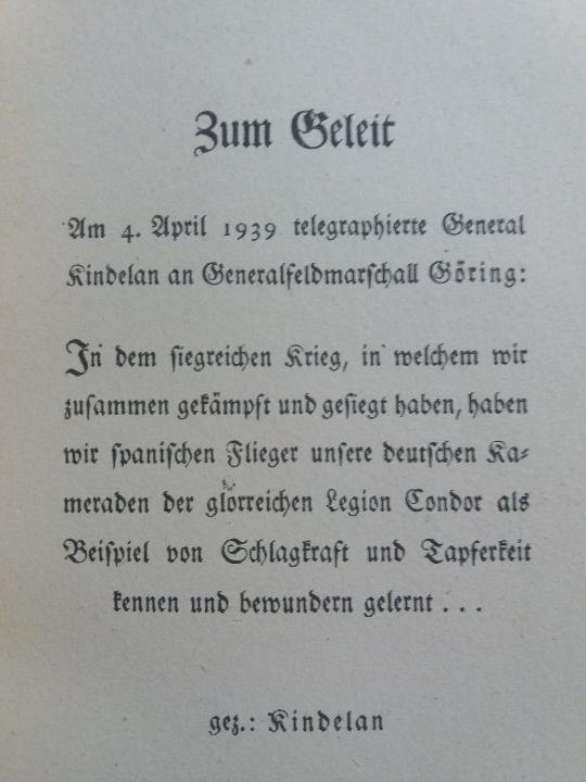 Libros antiguos: Legión Cóndor, Guerra Civil Española, Alemania del Tercer Reich. - Foto 3 - 108081359