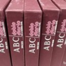 Libros antiguos: LOTE ABC DOBLE DIARIO. Lote 111214491