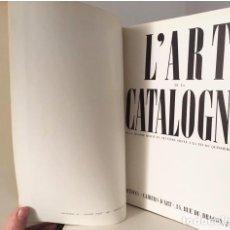 Libros antiguos: ZERVOS : L'ART DE LA CATALOGNE (DE LA SECONDE MOITIE DU NEUV...) GUERRA CIVIL 1937. Lote 114129447