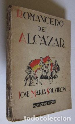 ROMANCERO DEL ALCAZAR - GUERRA CIVIL ESPAÑOLA - AÑO 1937 (Libros antiguos (hasta 1936), raros y curiosos - Historia - Guerra Civil Española)