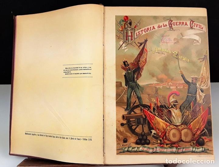 Libros antiguos: HISTORIA DE LA GUERRA CIVIL. 3 TOMOS. ANTONIO PIRALA. 1889/1891. - Foto 3 - 118360923