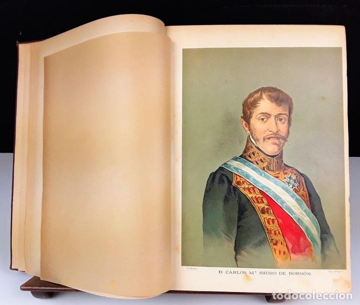 Libros antiguos: HISTORIA DE LA GUERRA CIVIL. 3 TOMOS. ANTONIO PIRALA. 1889/1891. - Foto 4 - 118360923